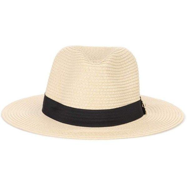 Melissa Odabash Fedora Hat ($170) ❤ liked on Polyvore featuring accessories, hats, beige, melissa odabash, melissa odabash hats, fedora hat, beige hat and beige fedora hat