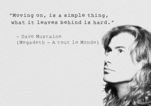 Dave Mustaine Quote - megadeth Fan Art