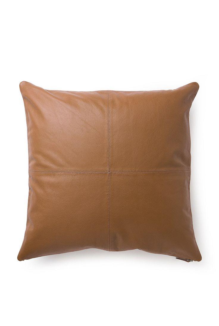 Rya Leather Cushion