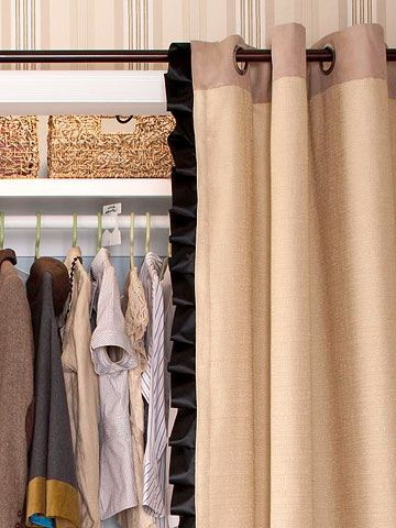 Before & After Closet Makeover...great organizing and storage tips!
