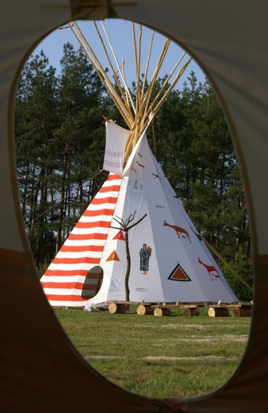 majestic canvas tipi-best glamping idea