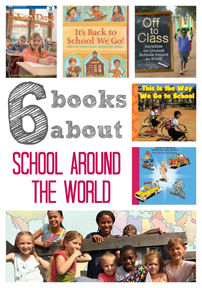 Books About School Around the World An education matters—and that's true for children ALL over the world!