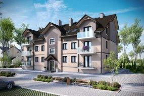 Projekt budynku wielorodzinnego W5b - STUDIO ARCHITEKTONICZNE ARTUR RZEPUS mgr inż. arch. A.Rzepus Czechowice-Dziedzice