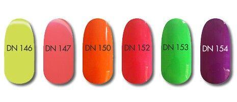 Diamond Nails gél lakk színek!