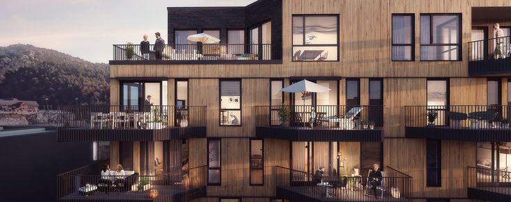 I Landsbyen Leiligheter blir det skapt hjem med fokus på komfort, ro og kvalitet i naturlige omgivelser. Klikk her for å finne ditt nye hjem i Landsbyen.