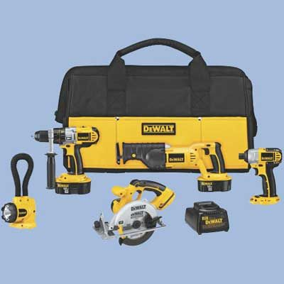 Photo: Courtesy of DeWALT | thisoldhouse.com | from The Ultimate Cordless Tool Gift Guide