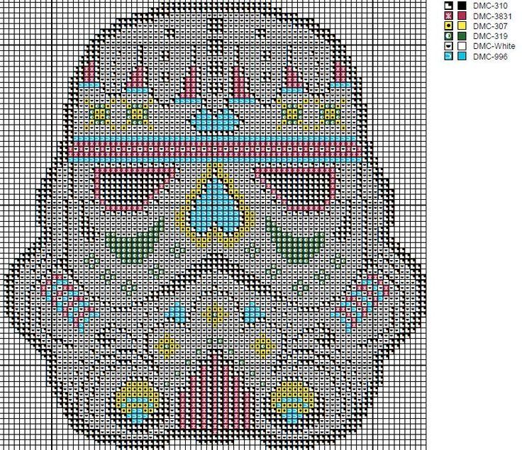 Star Wars - Sugar skull Stormtrooper Cross stitch pattern