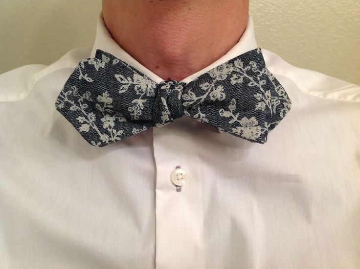 Free Pointed Bowtie Sewing Pattern
