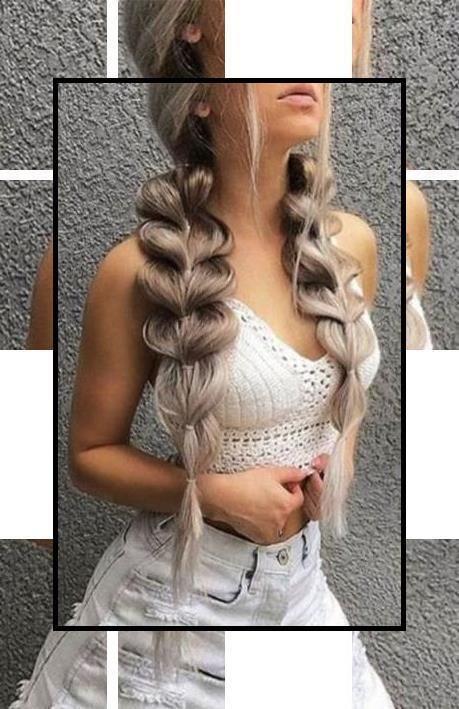 Cute Hairstyles | Messy Hairstyles | Easy Braided Updos For Medium Hair