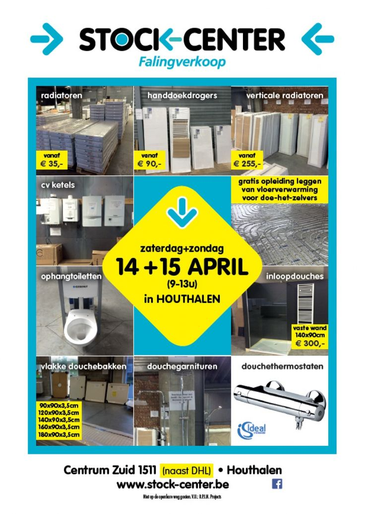 Falingverkoop StockCenter Houthalen 14/0415/04