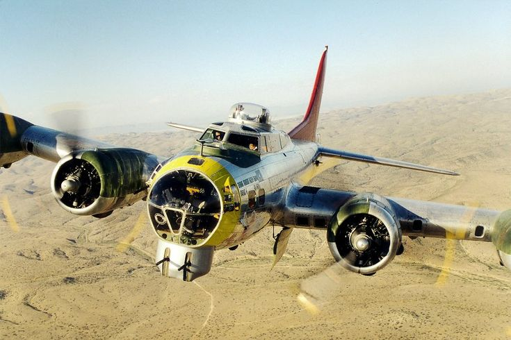 "Boeing B-17 Flying Fortress ""Miss Angela"" of Palm Springs Air Museum."