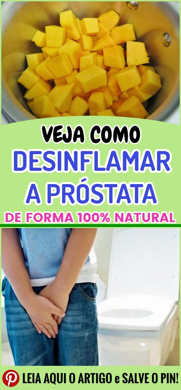 como tratar prostata com produtos naturais