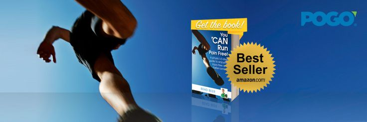 'You CAN Run Pain Free! Hits AMAZON Running and Jogging Best Seller Lists