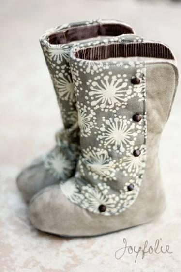 """""""Calista Boots"""" by Joyfolie at Return To Eden - Children's Designer Clothing. Price: NZ $125.00"""