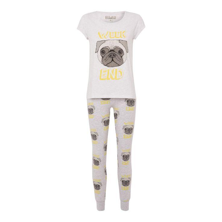 Ensemble de pyjama gris zologiz - Homewear