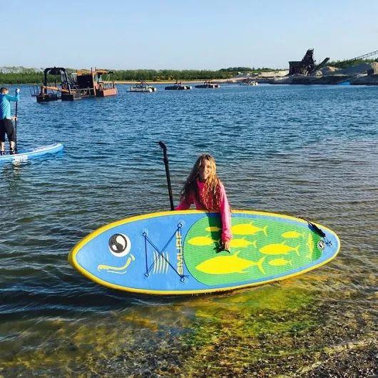 Shark inflatable SUP paddle board    #inflatablepaddleboard#isup#reviersportl#creative#womensport#waverider#outsidesport#fitness#mood#paddleboard#niceday#enjoy#happy