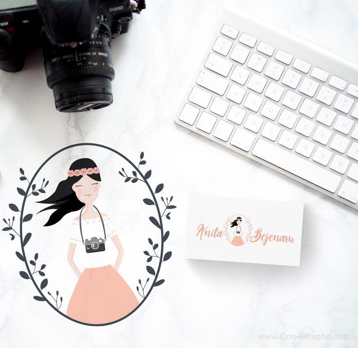 Anita Bejenaru - Photography - Brand Identity - #brandidentity #logo #photography #sweet #cute #portrait #logodesign #design #designer #onegiraphe #portfolio #logos #designer