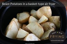 This is a recipe for making roast potatoes in a basket-type air fryer, using a Philips AirFryer™ as an example. The maximum capacity of the average model Philips AirFryer is 1.25 kg (2 3/4 lbs) of raw potato, chunked. Let's make a full batch: that's enough for 4 people. Or for two people for two... Read More »