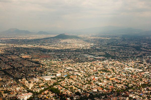 Mexico City--100 Incredible Views Out Of Airplane Windows