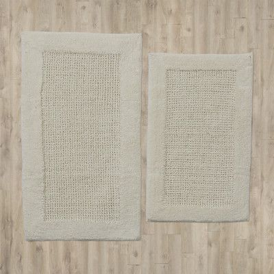 You'll love the Naples 2 Piece Contemporary Bath Rug Set at Wayfair - Great Deals on all Bed & Bath  products with Free Shipping on most stuff, even the big stuff.
