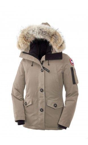 e697fa327 Canada Goose Montebello Parka Tan Women #parka #goosepeople | winter ...
