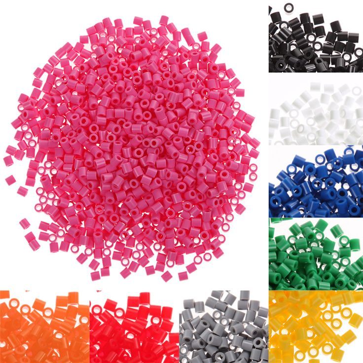 1000pcs 5mm Beads Crafts Toy for Kids Children's Creative Educational Toys