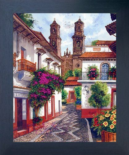 Old Mexico City Horacio Robles Jr Wall Decor Espresso Framed Picture Art Print (20x24) Impact Posters Gallery http://www.amazon.com/dp/B00GTDU930/ref=cm_sw_r_pi_dp_TNDVwb1V3CZ3Y