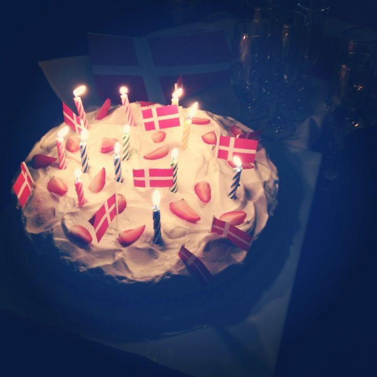 Danish Birthday Cake