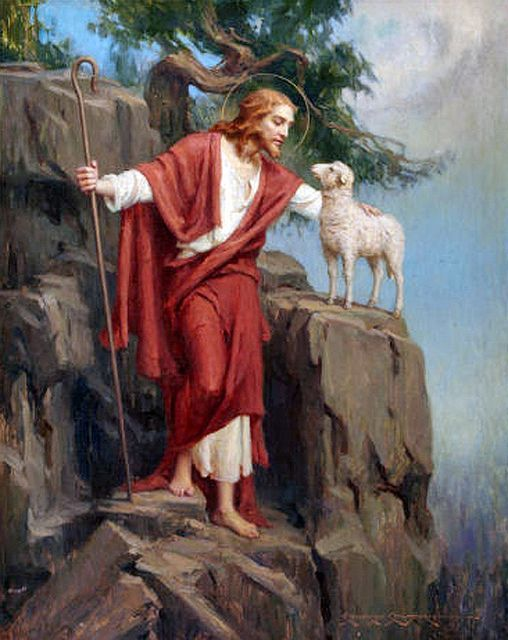 Image result for jesus the good shepherd