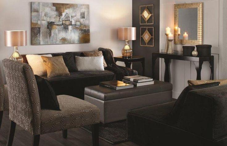 Bouclair – Living room. Visit www.bouclair.com for details.