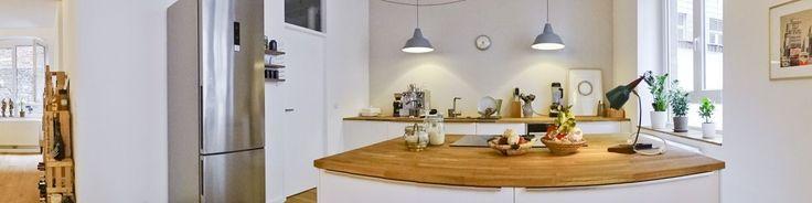 Hausbesuch | Helle Wohnküche im Loft