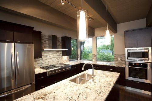 Ice Brown Granite Kitchen Countertop Pinterest