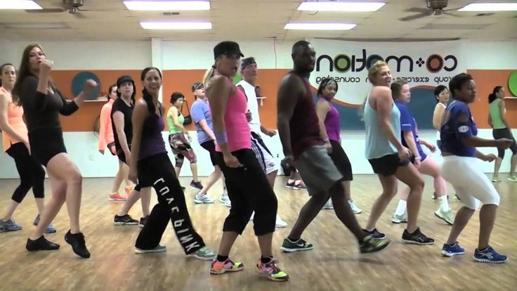 """Dance workout  """"BLURRED LINES"""" by Robin Thicke - Choreography by Lauren Fitz for Dance Fitness"""