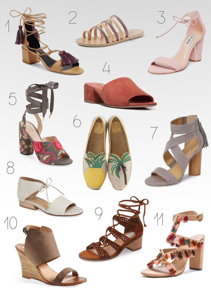 The Best Spring Shoes - Maggie a la Mode