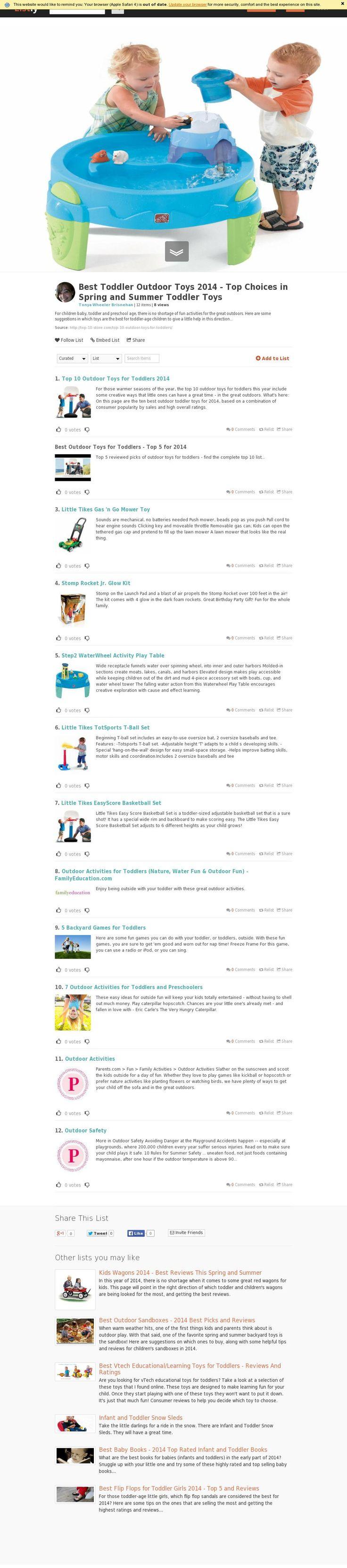 25 ideias exclusivas de Toddler outdoor toys no Pinterest