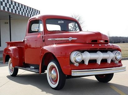 1952 Ford F1 Pickup...Re-pin brought to you by #InsuranceAgents at #HouseofInsurance Eugene, Or. #541-345-4191