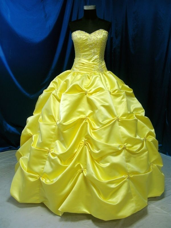 The 25  best Yellow wedding dresses ideas on Pinterest | Yellow ...
