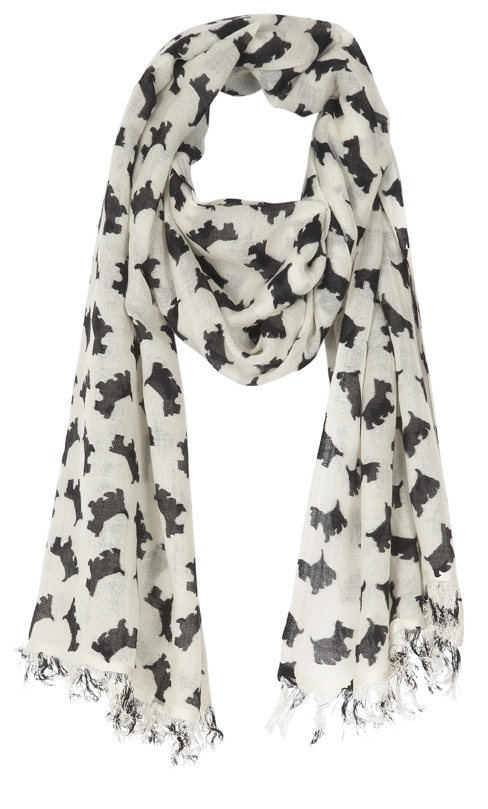 Scottie Dog Scarf...LOVE! I loved them when I was little and I love them now :)