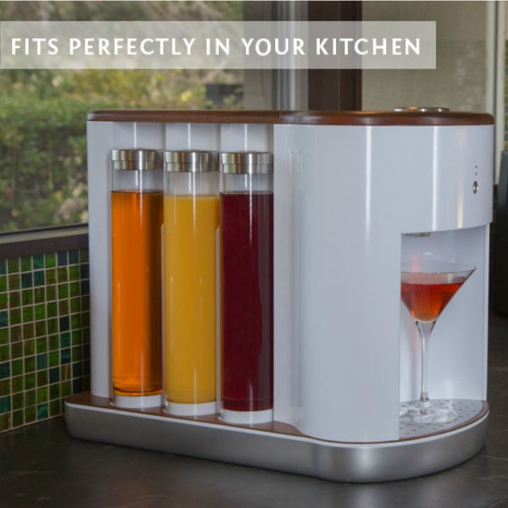 I really want this!!! Somabar Robotic Bartender - Somabar is a Wi-Fi connected craft cocktail…