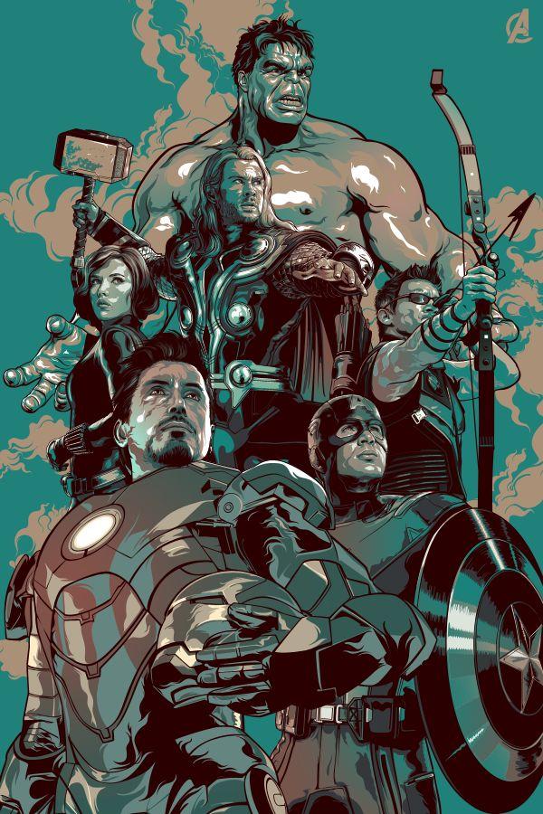 #Avengers #Fan #Art. (The Avengers) By: Aseo. [THANK U 4 PINNING!!]