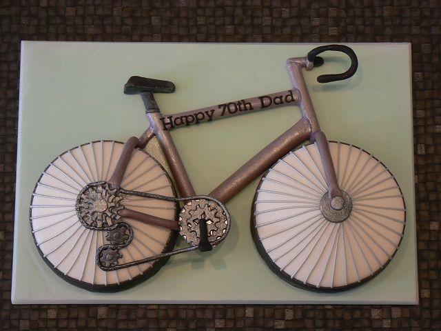 Road Bike £85 Cake