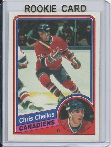 1984-85 OPC Chris Chelios RC Montreal Canadiens # 259 NM-MT