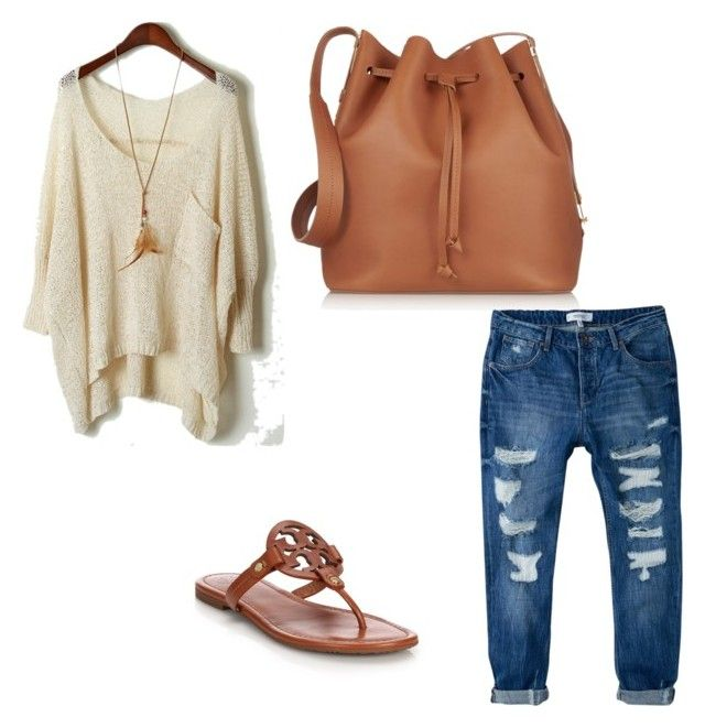 """Wine Tasting outfit"" by anissia-hines on Polyvore featuring Tory Burch, MANGO and Sophie Hulme"