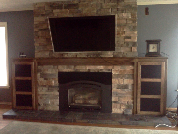 Basement Fireplace Idea Project Remodel Round 1