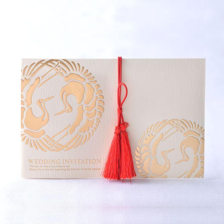 和風、双縁(そうえん)きなり|結婚式招待状、席次表、格安手作り(印刷も受付中)