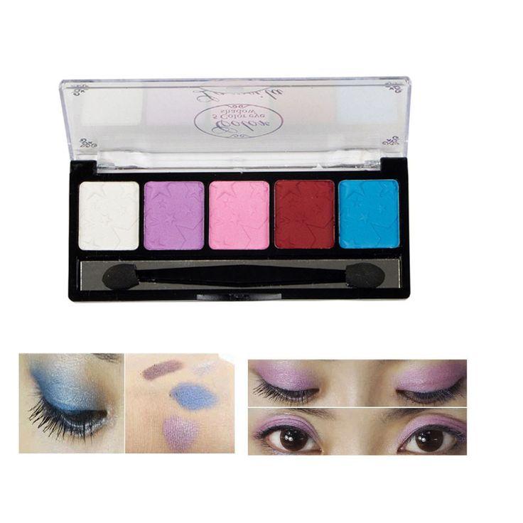 5 Color Plate Makeup Eye Shadow Blush Color Plate g61028