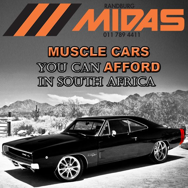 Muscle Cars You Can Afford in South Africa. More info on our website. Link in BIO.