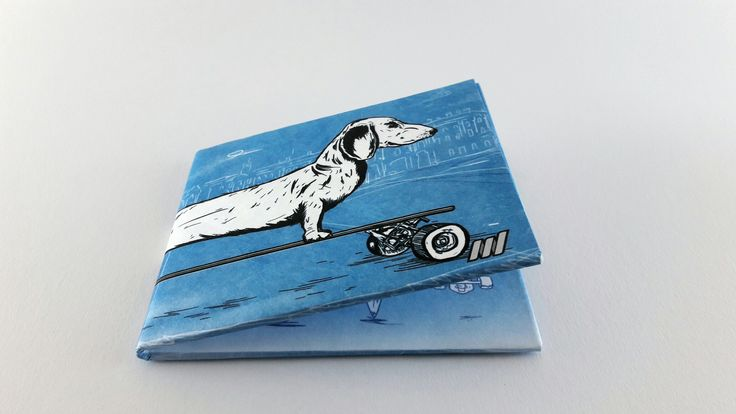Slim wallet. Ideal gift for him