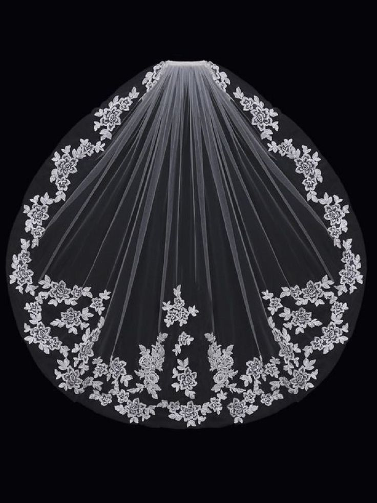 ==> [Free Shipping] Buy Best 2017 New Arrival short Wedding Veils Lace wedding Veils Beauty Appliques Wedding Accessories veli da sposa Online with LOWEST Price   32791185123