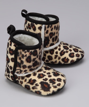 Take a look at this Tan Leopard Boot by Blow-Out on #zulily today! only $7.99 WOW!!!
